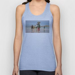 Back fishing day Unisex Tank Top