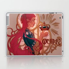 Enby royalty - Quing Laptop & iPad Skin