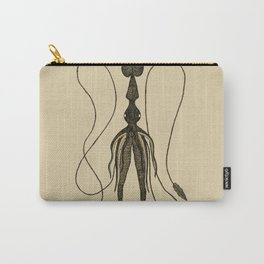 Squid Illustration Carry-All Pouch