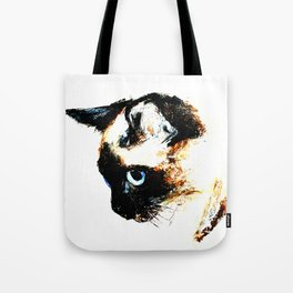 Siamese Cat 2015 edit Tote Bag