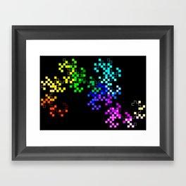 little squares Framed Art Print