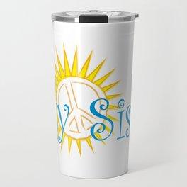 Salty Sista Sun   Travel Mug