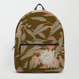 Eucalyptus Autumn Blooms Backpack