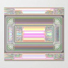 Moderne Glitch Canvas Print