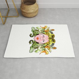 Medusa The Gorgon Rug