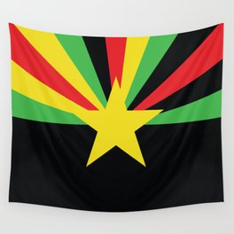 Arid Rasta Vecta Wall Tapestry