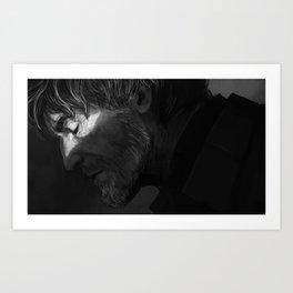 DH: Losing Art Print