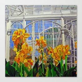Victorian Greenhouse Canvas Print