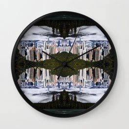 HOME TO HONG KONG Wall Clock