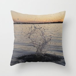Waco Water Splash Throw Pillow