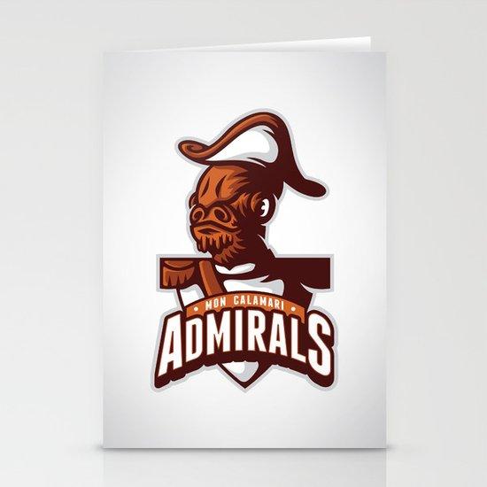 Mon Calamari Admirals Stationery Cards