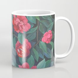Camellias, lips and berries. Coffee Mug
