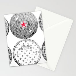 Manhole Cover Ink Print Complilation Stationery Cards