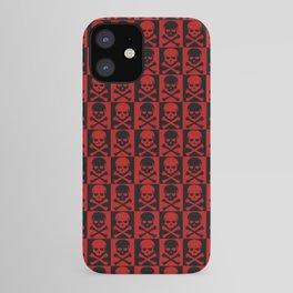 Red Skulls iPhone Case
