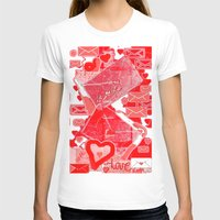 letters T-shirts featuring love letters by sladja