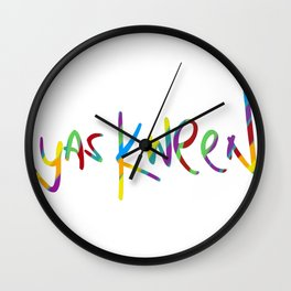 yas kween Wall Clock