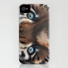 Tiger Eyes iPhone (4, 4s) Slim Case