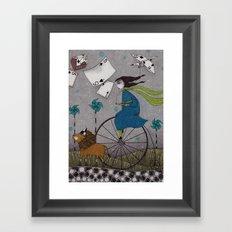 I Follow the Wind Framed Art Print