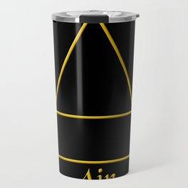 Air Element Symbol Travel Mug