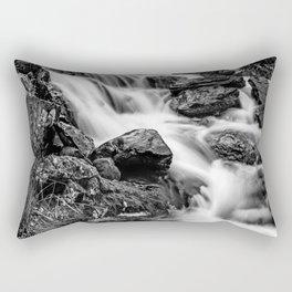 Winter Rapids Rectangular Pillow