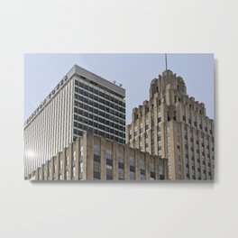 Winston Tower and Reynolds Building Metal Print