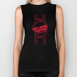 Fresh Melanin Poppin Delicious And Crisp T-Shirt Biker Tank