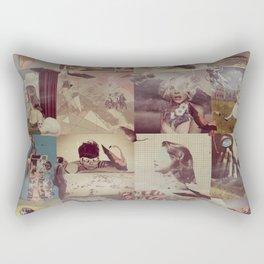 Collage Collage Rectangular Pillow