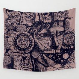 Mictecacihuatl Wall Tapestry