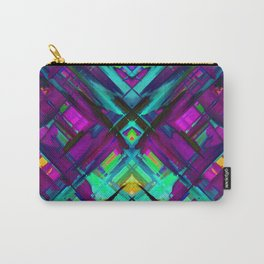 Colorful digital art splashing G472 Carry-All Pouch