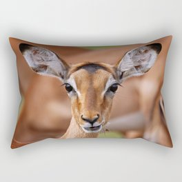 Young Impala - Africa wildlife Rectangular Pillow