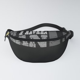 It is time for plan B  - Bitcoin And Crypto Design Fanny Pack