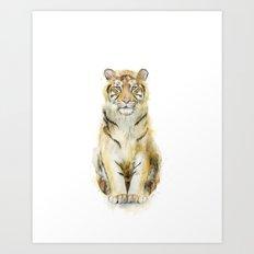 Tiger // Sound Art Print