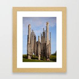 Playground of the Gods Framed Art Print