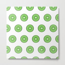 Kiwis for KL Metal Print