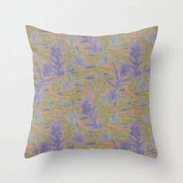 le marécage deux Throw Pillow