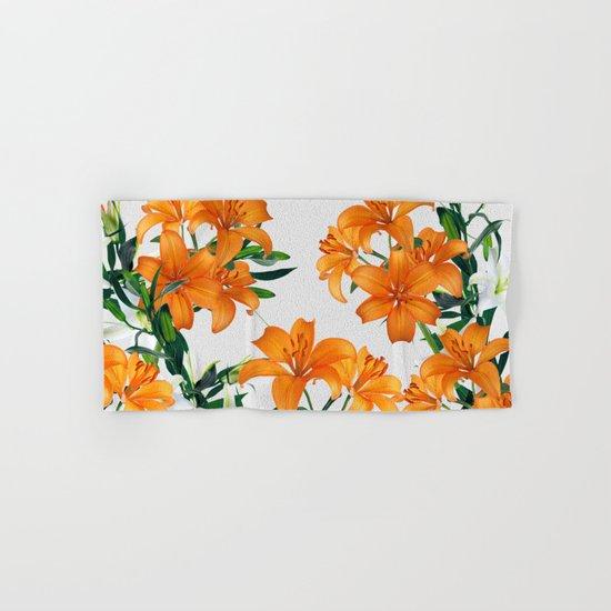 Glorious Lilies Hand & Bath Towel