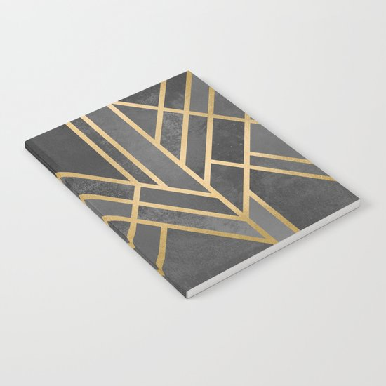 Art Deco Geometry 1 Notebook