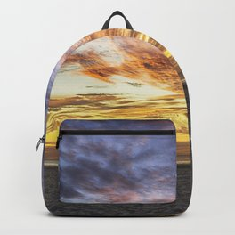 Good Harbor Beach Sunrise Backpack