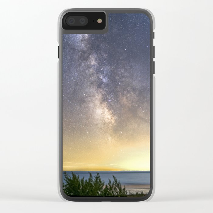 Milkyway Landscape Clear iPhone Case