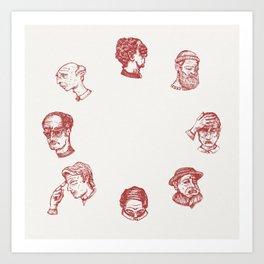 Cry O' Clock Art Print