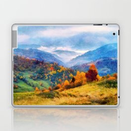 Autumn in the mountains Laptop & iPad Skin