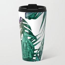 Tropics Tropical Jungle Island Pattern Travel Mug