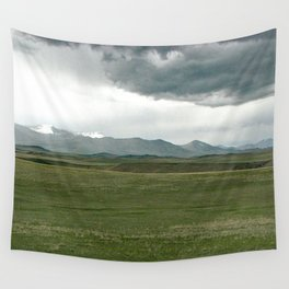 Rocky Mountain Front Wall Tapestry
