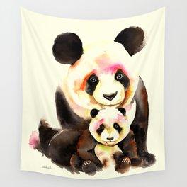 Panda Bear Wall Tapestry