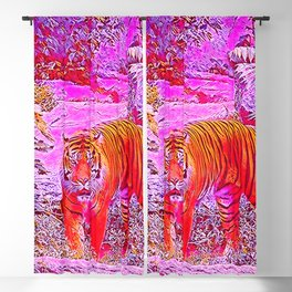 Popular Animals - Tiger 1 Blackout Curtain