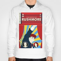 rushmore Hoodies featuring Rushmore by Bill Pyle