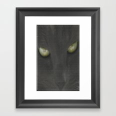 walls have eyes Framed Art Print