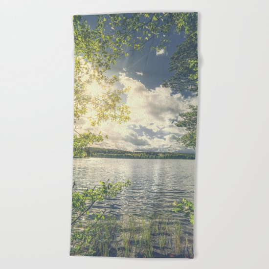 Peekaboo 7 Beach Towel