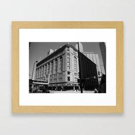 Denver Downtown 2005 Framed Art Print