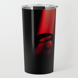 Red candel light Travel Mug